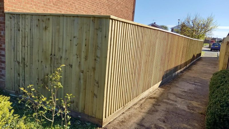 Closeboard Fencing in Suffolk